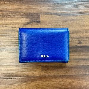 Blue Ralph Lauren wallet